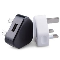 Wholesale rock prices - wholesale factory price universal 5V 1A UK plug fast charge travel charger adapter power dock usb wall chargers for samsung s9 8 plus