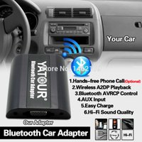 Wholesale digital changer for car resale online - Yatour Bluetooth Car Adapter Digital Music CD Changer CDC Connector For Aygo C1 Radios