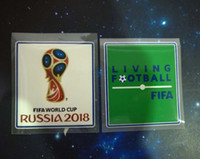 Wholesale cup materials for sale - Top quality Patch world cup Patch Soccer Patch Soccer Badges Cashmere material velvet