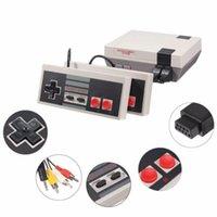 oyun sistemi oyuncu toptan satış-Sıcak Satış Mini TV RCA Video El Oyun Konsolu 620 oyunları perakende kutusu ile NES Oyun Oyuncu için 8 bit sistemi depolayabilirsiniz DHL