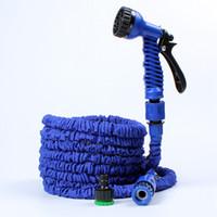 ingrosso strumenti din-150FT espandibile flessibile tubi flessibili per acqua irrigazione pistola a spruzzo per strumento di lavaggio auto giardino acqua tubo kit da giardino