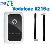 roteador desbloqueado 4g lte venda por atacado-Desbloqueado Novo ZTE Vodafone R216 R216-z com Antena 4G LTE 150Mbps Móvel WiFi Hotspot 4G Bolso WiFi Router 4G Router Sem Fio