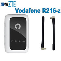 Wholesale router resale online - Unlocked New ZTE Vodafone R216 R216 z with Antenna G LTE Mbps Mobile WiFi Hotspot G Pocket WiFi Router G Wireless Router