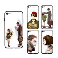 Wholesale paintings little girls resale online - For iPhone X S Plus Xs Max Xr Samsung Galaxy S8 S9 Note TPU PC Uncle Little Girl Painted Phone Case Back iphone Cover Shell