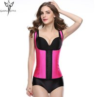 309b9a85fddc7 Waist Trainer corsets hot shapers latex slimming belt sheath corsets and  bustiers fajas modeling strap bodysuit women shapewear