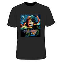 Wholesale alice clothing online - Alice Cooper Band Tee Clothing Apparel Tshirt Black New Men s T Shirt custom printed T shirt hip hop funny tee mens tee shirts