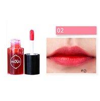 korean waterproof lipstick venda por atacado-Atacado Cosméticos Coreano Mulheres À Prova D 'Água Batom Tingimento Líquido Lip Gloss Blush Tons de Maquiagem de Água Frete Grátis