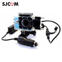 Wholesale motorcycle cameras waterproof for sale - Group buy Motorcycle Waterproof Case for SJCAM SJ5000 SJ4000 Series Charging Case sj cam SJ5000X Elite Action Camera Accessories