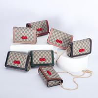 nuevos bolsos coreanos al por mayor-Los bolsos de los niños de la madre y de la hija del bolso del Cruz-cuerpo Nuevos bolsos de hombro de la manera coreana Mini bolsos de las muchachas de la princesa Los monederos de los niños Regalos de Navidad