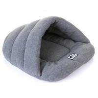 ev tarzı evcil hayvan toptan satış-Kış Sıcak Terlik Stil Köpek Yatak Pet Köpek Evi Güzel Yumuşak Uygun Kedi Köpek Evcil Yastık Kaliteli Ürünler için Ev Yatak