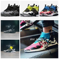 Wholesale top labs for sale - 2018 Famous ACRONYM x Lab Air Presto Mid Running Shoes For Men Women Top Quality Pink Blue White Green acronym prestos Trainers Eur36