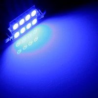 Wholesale map lamp car online - Ultra Blue MM LED SMD Car Auto C5W Dome Interior Festoon Bulb Reading Map Light Door Lamp DC12V