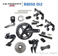 Wholesale carbon fibre alloys - SHIMANO Di2 Ultegra R8050 50 34T 53 59T 165 170 172.5 175mm 2*11 22 Speed road bike bicycle groupset Bicycle Parts Update R8000