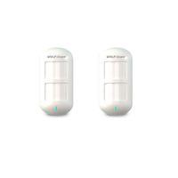 Wholesale 433mhz Alarm - 2 x Wolf-Guard Wireless Dual Pet Immune PIR Sensor Motion Detector for Home Security Alarm System 3G GSM Alarm Panel 433MHZ HW-06D 2pcs lot