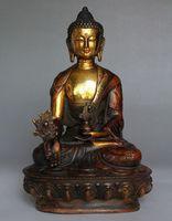 ingrosso buddha d'ottone tibetano-8