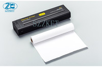 Wholesale Portable Printer Mini Mobile A4 Thermal Small Printer A4 paper mini thermal printer USB interface