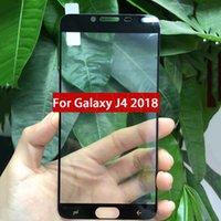 vidrio temperado samsung duos al por mayor-J4 2018 J6 2018 J8 2018 Protector de pantalla de teléfono de vidrio templado de cubierta completa para Samsung Galaxy J2-PRO-2018 J7 Prime2 J7 Prime J7 DUO