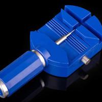 removiendo herramientas al por mayor-Nuevo reloj de pulsera correa de hendidura de banda Pulsera de cadena removedor de perno kit de herramienta de reparación de reparación Quitar la correa Relojes herramientas de reparación