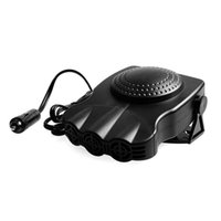 Wholesale vehicle promotion - Promotion! Car Heater Heating Cooling Fan Defroster Demister 12V 3 in 1 150W Auto Protable Vehicle Dryer Driving Defogger