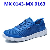 Wholesale Flooring Borders - MX 0143-MX 0163 Womens Mens Breathable Shoes Lace-up Students Shoes Mens High Quality Low To Casual Shoes blue red black