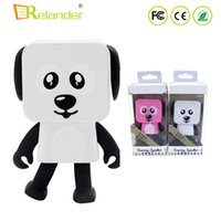 2018 Mini altoparlante Bluetooth Smart Dancing Dog Speaker Nuovo multi altoparlante portatile Bluetooth Altoparlante giocattolo regalo creativo