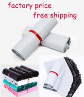 posta zarfları toptan satış-17 x 30 cm Kendinden yapışkanlı Poli Postacılar Nakliye Zarflar Posta Çantaları Nakliye Çantaları su geçirmez yırtılmaya karşı Kendinden sızdırmazlık 10 x 13 Geri Dönüştürülebilir