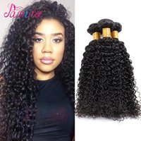 tejido de rizo virgen indio al por mayor-Raw Virgin Indian Rosa Beauty Productos para el cabello Indian Curly Virgin Hair 3pcs Grade 8A Jerry Curl Human Hair Weave 100g / pc