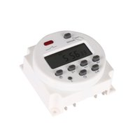lcd для таймера оптовых-New Hot DC 12V/220V Digital LCD Power Timer weekly 7days Relay 8A TO 16A TIMER 10A mini Programmable Time Switch