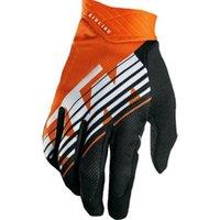 bicicleta mx al por mayor-Comercio al por mayor KTM guantes de moto de montaña guantes de bicicleta de montaña hombres MX Motocross guantes de dedo completo DH MTB guantes de moto de competición Luvas Guant16