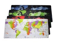 Wholesale high tablet computer online - Super Locking Edge large cm Game Mouse Pad high quality DIY pictures the world map big huge size for computer tablet