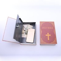 Wholesale Money Collection - Dictionary Secret Storage Book Money Hidden Safe Cash Jewellery Locker Box Collection Case With Password KeyLock Piggy Bank SB-C