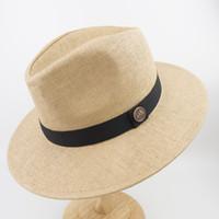 Dupla camada de papel palha mens e womens branco Wide Brim melhor alta  qualidade Fedora Panamá chapéu EPU-MH1820 229734fd8c7