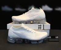 Wholesale Tpu Sports Shoes - 2018 Mens Vapormax 2 Running Shoes For Women Sneakers Knitting TPU Fashion outdoor Athletic Sport Shoe Hiking Jogging Walking trainers