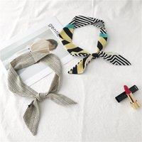 ingrosso colletto di bowtie-Cravatta cravatta per camicia Abito accessorio cravatta girocollo stretto rettangolare per colletto alla moda Unifrom College Bank Hotel Cravate