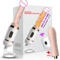 Wholesale automatic vibrator machine toy for sale - Group buy DIBEI Remote Control Automatic Sex Machine for Women Pumping Gun Thrusting Dildo Vibrator Female Masturbation Adult Sex Toys Medical silicon