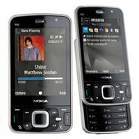 Wholesale 3g mobile phone gps wifi - Refurbished Original Nokia N96 Unlocked Slider Mobile Phone 2.8 inch Screen 5.0MP Camera WIFI GPS Bluetooth 3G Mobile Phone Free Post 1pcs