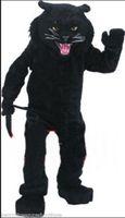 mascote real venda por atacado-Carnaval de alta qualidade adulto panteras traje da mascote frete grátis, Real fotos de festa de luxo o traje da mascote leopardo direto da fábrica