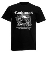 Wholesale new loom for sale - Candlemass Logo Black New T Shirt Fruit of the Loom ALL SIZES
