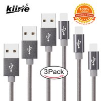 Wholesale Ios Usb Cable - Lightning Cable usb cell phone cables with retail box Data cables for Lightning apple iPhoneX 8Plus apple IOS iPad Gray 3 Pack 0.3m 1m 2m