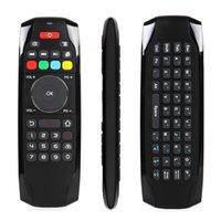 mini ordinateur tv usb achat en gros de-2.4 Ghz RF Mini Clavier Sans Fil G7 Smart Fly Air Souris TV Télécommande Pour Android TV Box Projecteur Contrôleur D'ordinateur