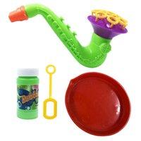 kinder blasen blasen großhandel-1 stücke Blasen Spielzeug Bubble Gun Seifenblase Gebläse Outdoor Kinder Kind Spielzeug Neue Kreative polyporöse Hochzeit Maschine