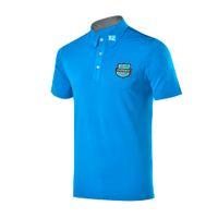 secas camisas pólo ajuste venda por atacado-PLAYEAGLE Design Sportswear Mens Verão Respirável Quick Dry Fit Golf Camisa Polo T-shirt de Manga Curta de Golfe Sports Vestuário