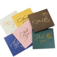 благодарственные визитные карточки оптовых-поздравительные открытки поздравительные открытки визитка высшего сорта цвет бронзирования, спасибо за ваших деловых партнеров, клиентов, гостей, с конвертом