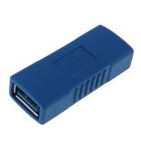 ingrosso cambio del usb-10 PZ DiGiYes Superspeed USB 3.0 Tipo-A Femmina-Femmina Adattatore Prolunga di Ponte Accoppiatore Connettore del Commutatore di Genere CAS_346