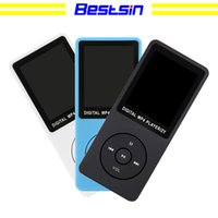 Wholesale Bestsin New sports MP4 MP3 music player Mini Walkman student Inch screen plug in MP4 factory