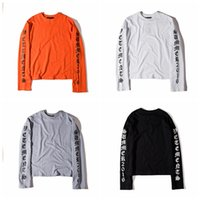 Wholesale Gothic Sweatshirt - Free Shipping Gothic Letters OVERSIZE Sweatshirt Men Women Long Sleeve Pullover Loose Hoodie Sweater Sizes S-XL