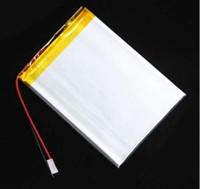 batterie lithium ion polymère 3.7v achat en gros de-Batterie au lithium ion de polymère de 3.7V 3000MAH pour le PC de comprimé androïde Q88 PBB010