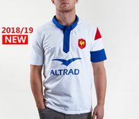 Wholesale best waterproof clothing resale online - Best Quality France Alternate S S Rugby Shirt Rugby Jerseys France Shirt League jersey Casual clothes s xl