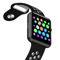 новые продажи умных часов оптовых-Горячие продажи 2017 новый Bluetooth Smart Watch IWO 1: 1 MTK2502C NK Спорт Band поддержка SIM-карты камеры для IOS Iphone и Android телефон