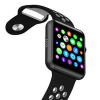 yeni akıllı saat satış toptan satış-Sıcak Satış 2017 Yeni Bluetooth Akıllı Izle IWO 1: 1 MTK2502C NK Spor Band IOS Iphone ve Android Telefon için Destek SIM Kart Kamera